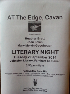 sept flyer At The Edge, Cavan