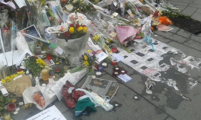 david bowie memorial 2